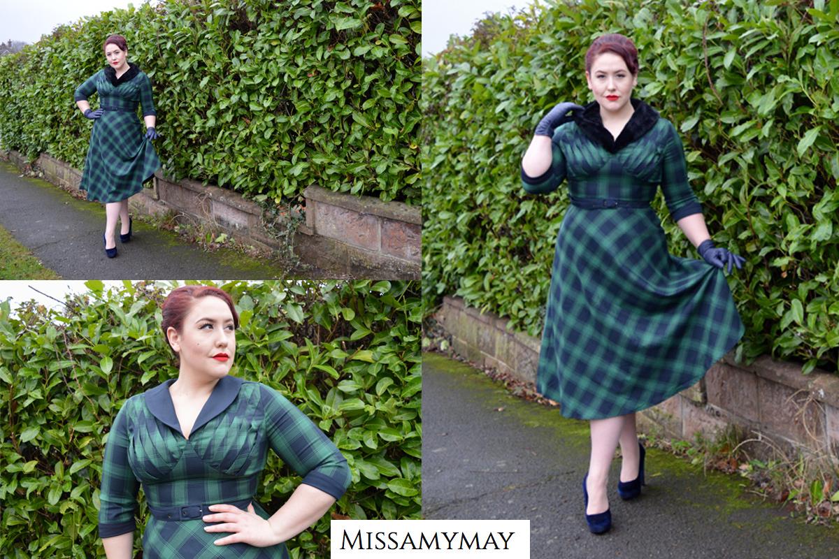 Amy May - Lola Dress by Voodoo Vixen