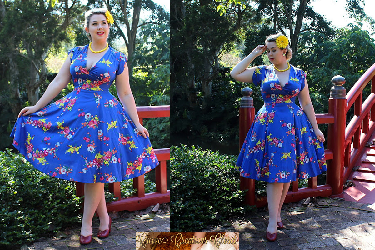 Curve Creation Amber Dress by Voodoo Vixen