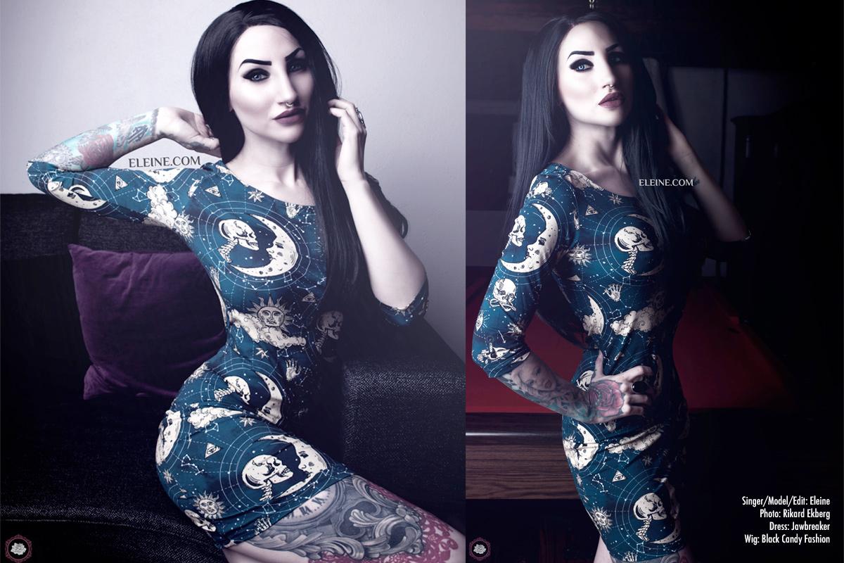 Eleine Jawbreaker Moonstone Dress