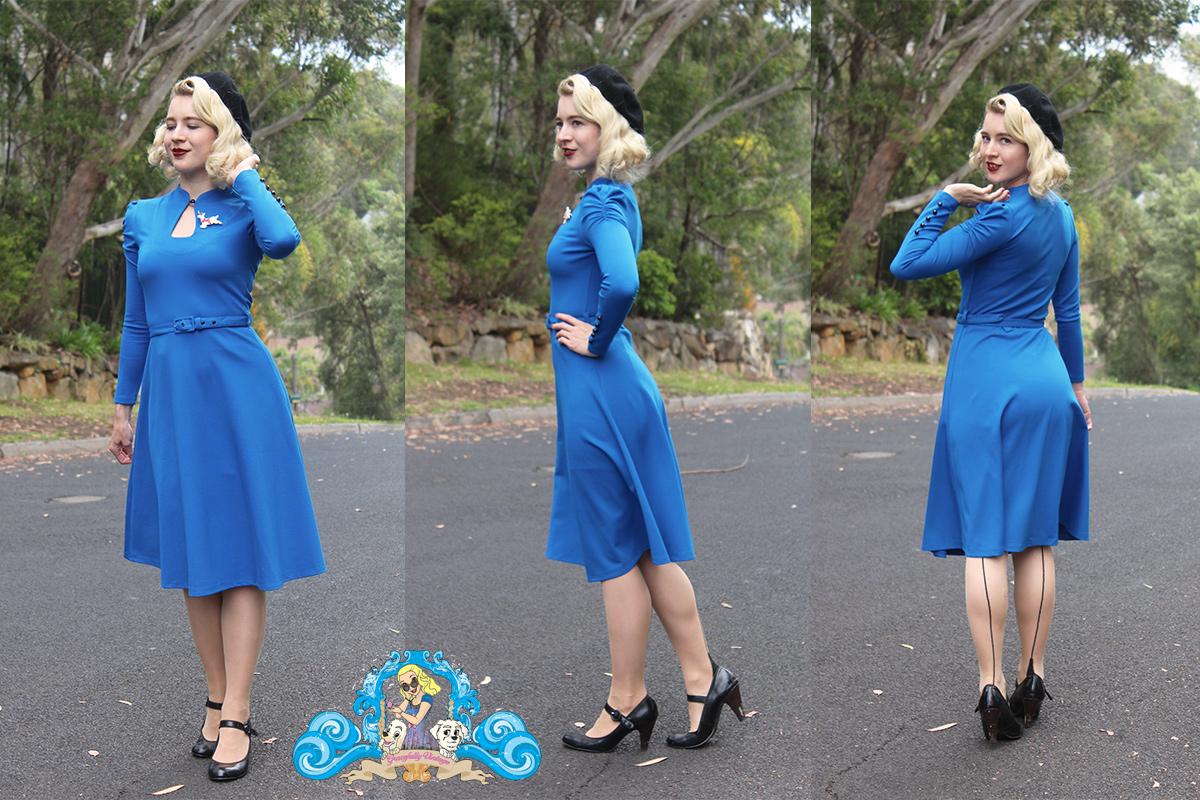 Gracefully vintage - Voodoo Vixen Dita Dress