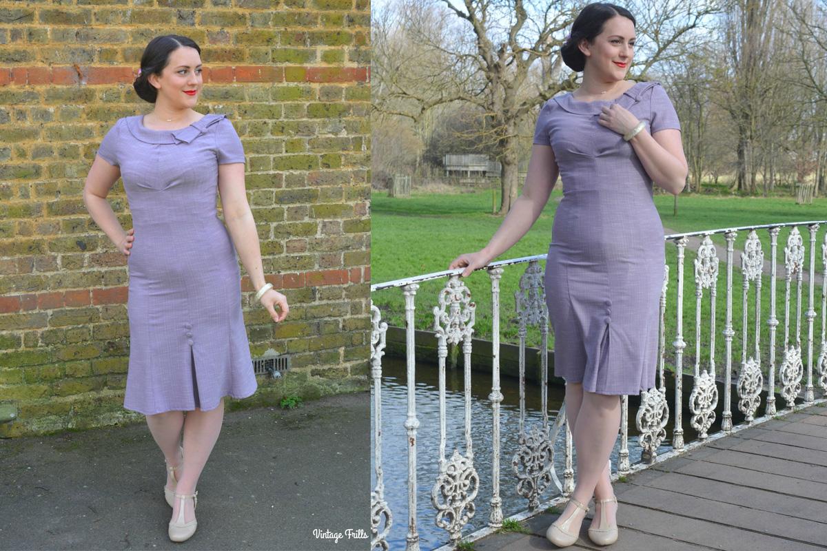 Vintage Frills - Gabriella Dress by Voodoo Vixen