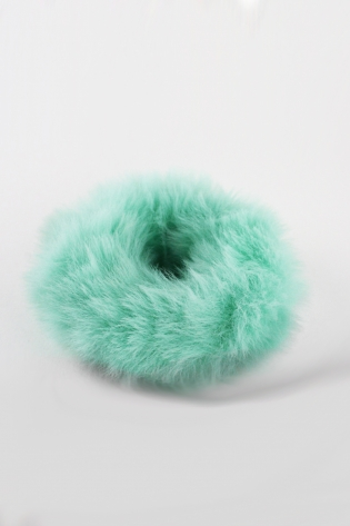 Fuzzy Thing Scrunchie