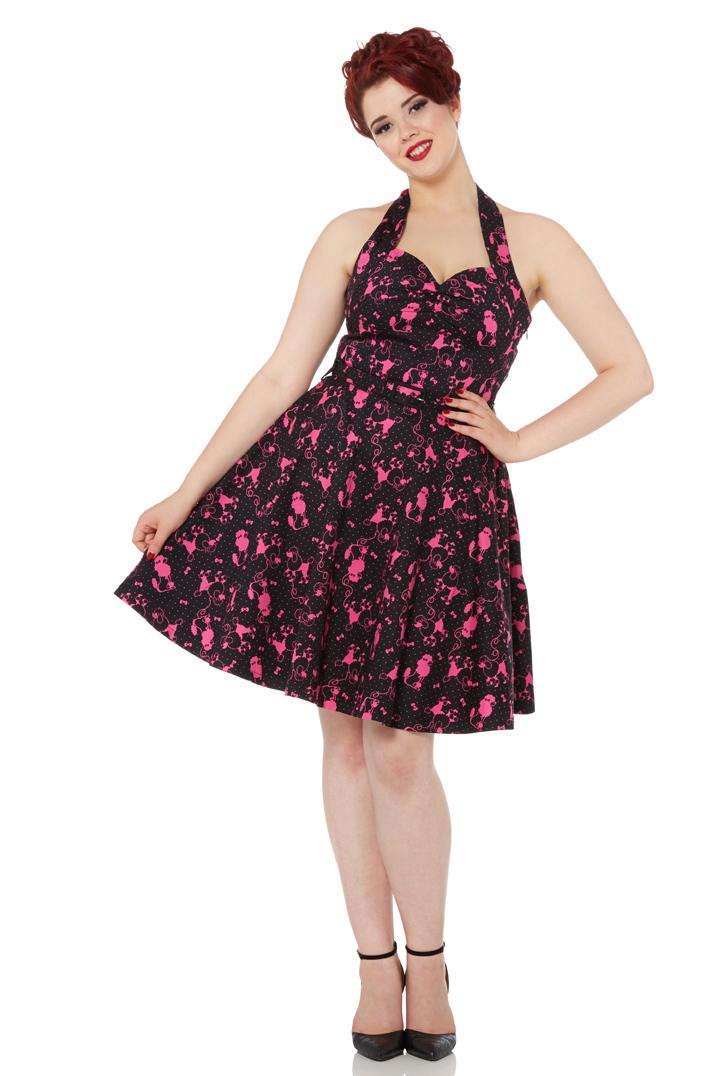 Prescilla Poodle Swing Dress