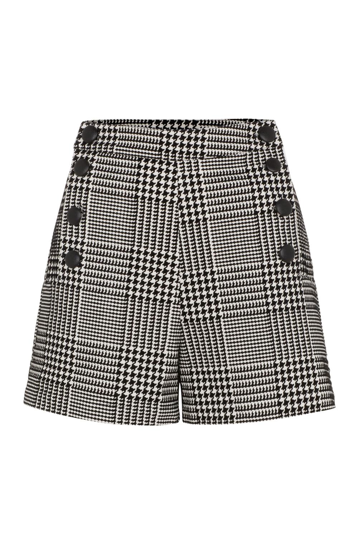 Georgie Houdstooth Shorts